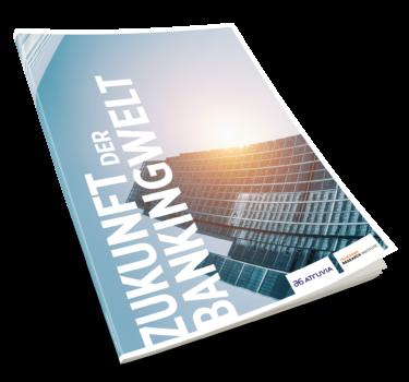 """Cover des Trend-Reports """"Zukunft der Bankingwelt"""""""