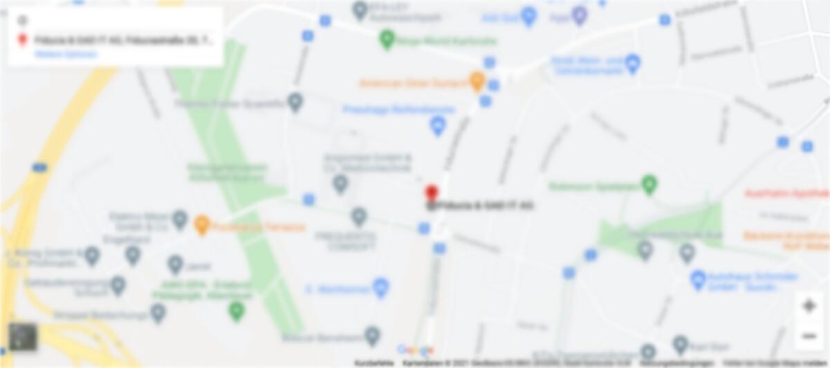 Verschwommenes Vorschaubild einer Stadtkarte