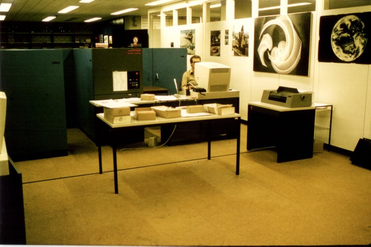Bild von alten Backup-Systemen.