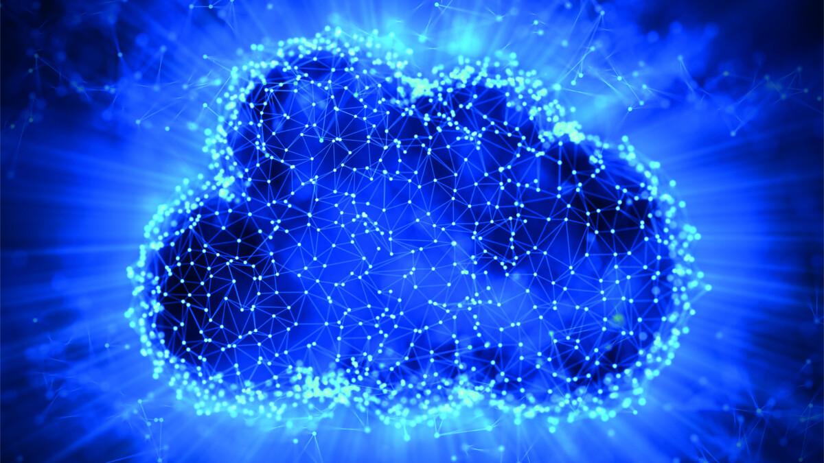 Foto einer Daten-Wolke